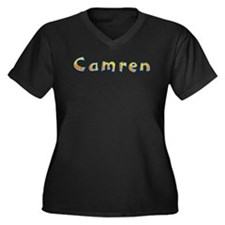 Camren Giraffe Plus Size T-Shirt