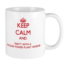 Keep Calm and Party With a Nuclear Power Plant Wor