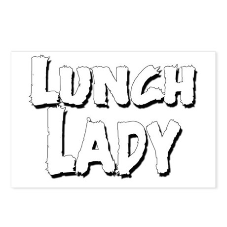 Lunch_Lady_02.Png Postcards (Package Of 8) Postcar