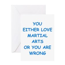 MARTIAL Greeting Cards