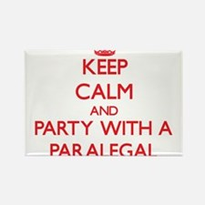 Keep Calm and Party With a Paralegal Magnets