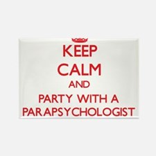 Keep Calm and Party With a Parapsychologist Magnet