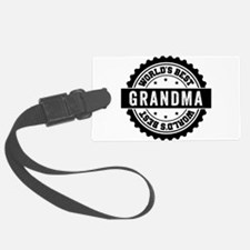 worlds best grandma Luggage Tag