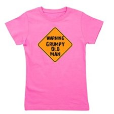 grumpy old man Girl's Tee