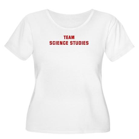 Team SCIENCE STUDIES Women's Plus Size Scoop Neck