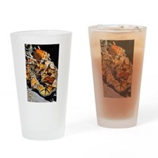 Monarch Butterflies 2 Drinking Glass
