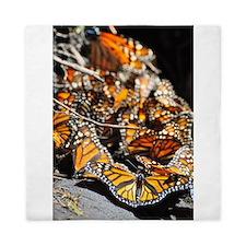 Monarch Butterflies 2 Queen Duvet