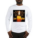 In Memory Of Our Dearly Belov Long Sleeve T-Shirt