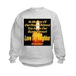 In Memory Of Our Dearly Belov Kids Sweatshirt