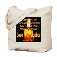 In Memory Of Our Dearly Belov Tote Bag