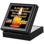 In Memory Of Our Dearly Belov Keepsake Box