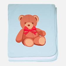 Stuffed Teddy Bear baby blanket