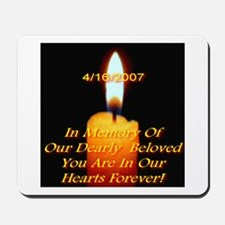 4/16/2007 Eternal Candle Flam Mousepad