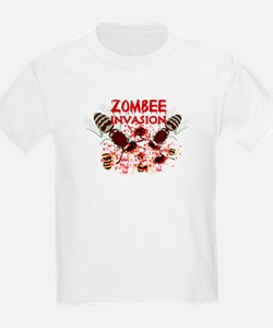 Invasion Of The Zombees T-Shirt