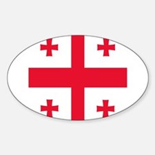 Flag of Georgia Decal