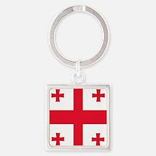 Flag of Georgia Keychains