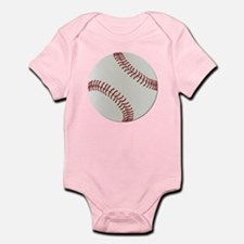 Baseball Ball - No Txt Infant Bodysuit