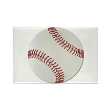 Baseball Ball - No Txt Rectangle Magnet