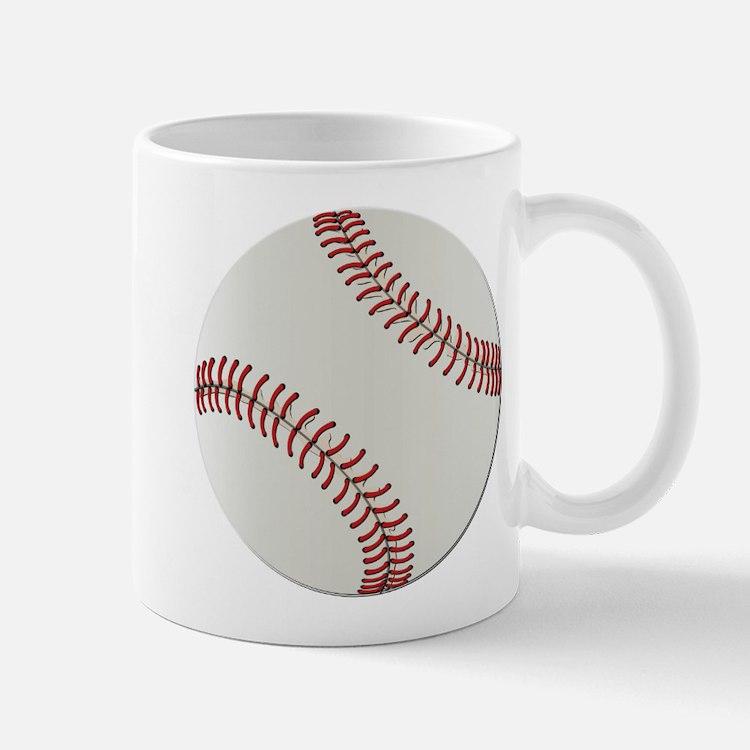 Baseball Ball - No Txt Mug
