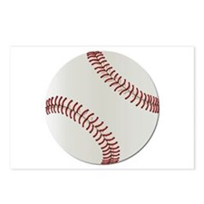 Baseball Ball - No Txt Postcards (Package of 8)
