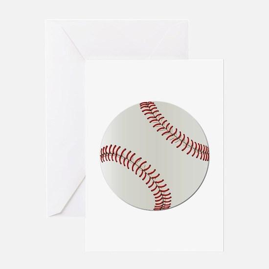 Baseball Ball - No Txt Greeting Card