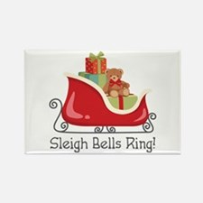 Sleigh Bells Ring! Magnets