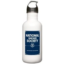 National Sarcasm Socie Water Bottle
