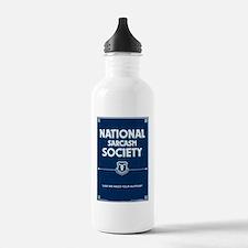 National Sarcasm Socie Water Bottle