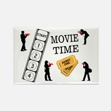 Come One Come All It's Movie Tim Rectangle Magnet