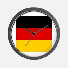 Flag of Germany Wall Clock