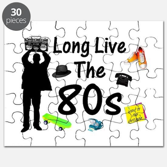 Long Live The 80s Culture Puzzle