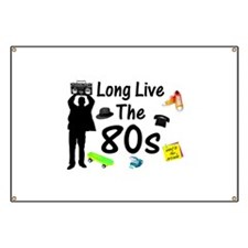 Long Live The 80s Culture Banner