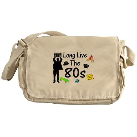 Long Live The 80s Culture Messenger Bag
