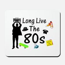 Long Live The 80s Culture Mousepad