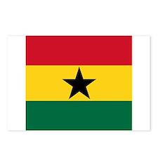 Flag of Ghana Postcards (Package of 8)