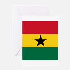 Flag of Ghana Greeting Cards