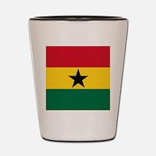 Flag of Ghana Shot Glass