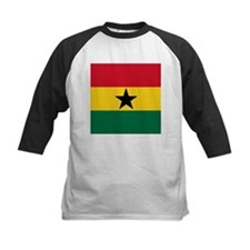 Flag of Ghana Baseball Jersey