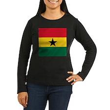 Flag of Ghana Long Sleeve T-Shirt
