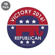 "Republican Victory 2014 3.5"" Button (10 pack)"
