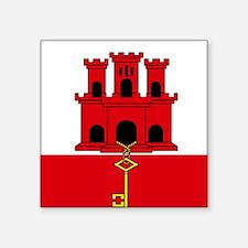 Flag of Gibraltar Sticker