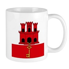 Flag of Gibraltar Mugs