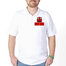 Flag of Gibraltar T-Shirt