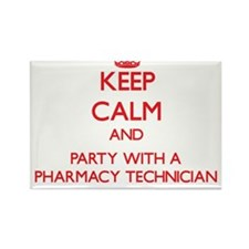 Keep Calm and Party With a Pharmacy Technician Mag