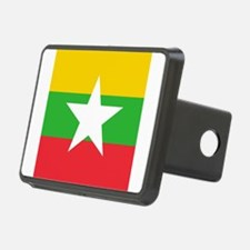 Flag of Myanmar Hitch Cover