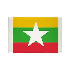 Flag of Myanmar Magnets