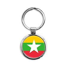 Flag of Myanmar Keychains