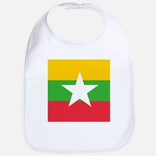 Flag of Myanmar Bib