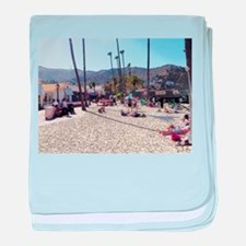 A Taste Of Catalina Island baby blanket