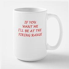 firing range Mugs